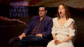 Download HILARIOUS QUIZ with Murder On The Orient Express cast | Daisy Ridley, Josh Gad, Michelle Pfeiffer Video