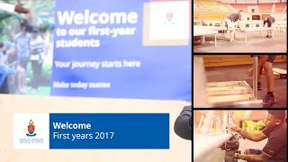 Download Welcome first years 2017 Video