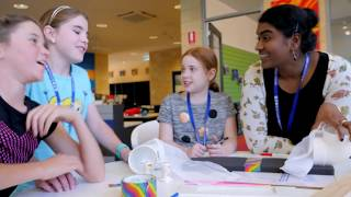 Download Inspiring girls to learn STEM in school Video