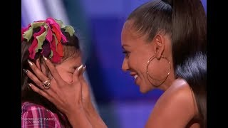 Download Adorable Little Girl Gets a Kiss From MEL B :) ″I am Awesome″ LOL! Video