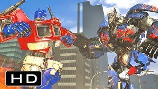 Download Transformers: Movie Optimus Prime VS G1 Optimus Prime Fight Scene Animation Video