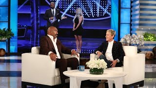 Download Steve Harvey Dishes on the Kardashian/West 'Family Feud' Episode Video