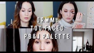 Download 3 Ways To Wear: Too Faced Peanut Butter & Jelly Palette / ttsandra Video