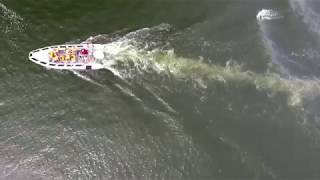 Download DJI spark flying dron follow Extrem Rib Boote Video