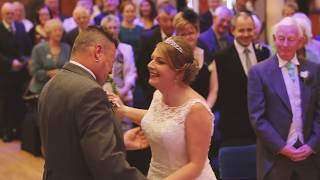 Download Wendy and Paul (3) 16/9/17 groom says no at the altar then cries Video