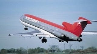 Download Classic Northwest 727-200 Takeoff (NOT MY FOOTAGE) Video