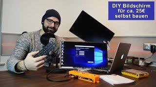 Download [DIY] Bildschirm selbst bauen für ca. 25€ [Tutorial] [HD] Video