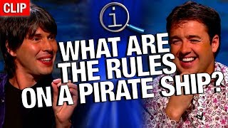 Download QI | What Are The Rules On A Pirate Ship? Video