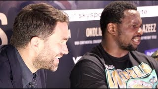Download 'I AM GLAD EDDIE HEARN SAYS THINGS LIKE THAT - IT MAKES ME THINK F*** THIS GUY!' - DILLIAN WHYTE Video