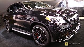 Download 2016 Mercedes AMG GLE 63 S 4Matic Coupe - Exterior and Interior Walkaround - 2016 Montreal Auto Show Video