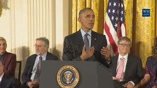 Download President Obama Awards the Presidential Medal of Freedom Video