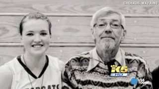 Download Girl buries dad, hours later stuns team in big game Video