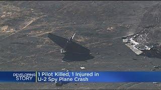 Download 1 Pilot Killed, 1 Injured In U-2 Spy Plane Crash Video
