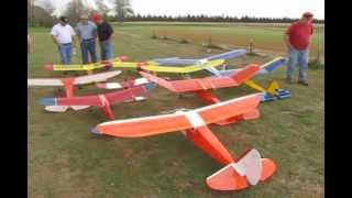 Download Old Timers RC Airplane Fun Fly - 9 Oct 10 Video