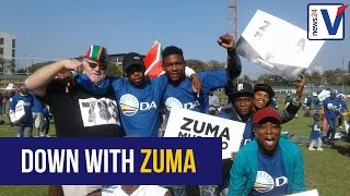 Download FREEDOM DAY RALLY: Opposition leaders call on President Zuma to step down Video