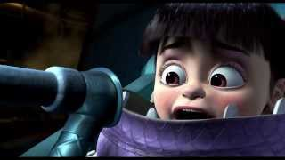 Download Monsters Inc. Mary gets frightened by the scream extractor machine Video