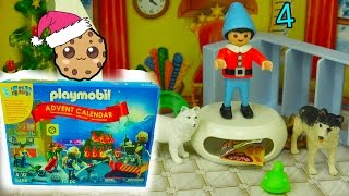 Download Elf Mess - Playmobil Holiday Christmas Advent Calendar - Toy Surprise Blind Bags Day 4 Video