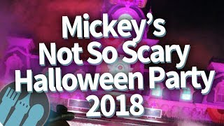 Download Disney World Mickey's Not So Scary Halloween Party 2018 - FULL REVIEW! Video