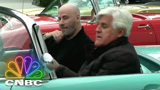 Download Jay Leno's Garage: Jay And John Travolta Take A 1955 Ford Thunderbird For A Cruise | CNBC Prime Video