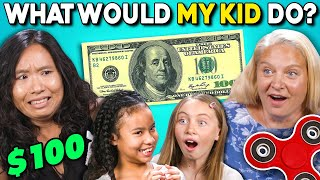 Download Parents Try Guessing What Their Kid Will Do For $100 Video