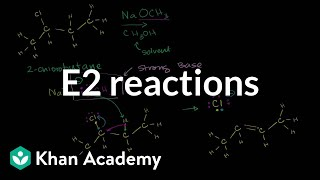 Download E2 reactions | Substitution and elimination reactions | Organic chemistry | Khan Academy Video