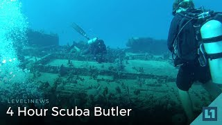 Download Level1 News May 25 2018: 24 Hour Scuba Butler Video