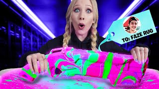 Download Gifting YouTubers GLOW IN THE DARK Hydro Dipped Items! *insane* Video