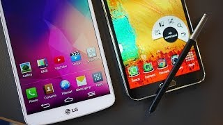 Download LG G Pro 2 vs Samsung Galaxy Note 3 - Quick Look Video