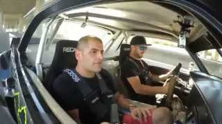 Download [HOONIGAN] Chris Harris rides with Ken Block in the Gymkhana Seven Hoonicorn Video