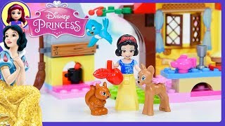 Download Snow White's Forest Cottage Lego Disney Princess Junior Set Build Review Silly Play Kids Toys Video
