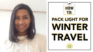 Download How to Pack Light For Winter Travel Video