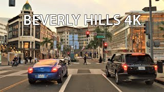 Download Driving Downtown - Rodeo Drive 4K - Beverly Hills USA Video