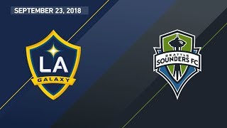 Download HIGHLIGHTS: LA Galaxy vs. Seattle Sounders FC | September 23, 2018 Video