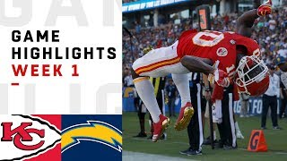 Download Chiefs vs. Chargers Week 1 Highlights | NFL 2018 Video