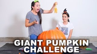 Download Giant Pumpkin Challenge - Merrell Twins Video