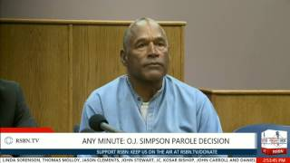 Download The Moment O.J. Simpson Granted Parole in Nevada 7/20/17 Video