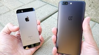 Download iPhone SE vs OnePlus 5 Speed Test! Video