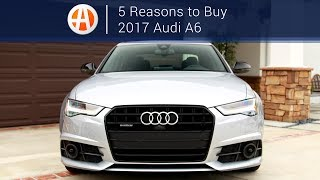 Download 2017 Audi A6 | 5 Reasons to Buy | Autotrader Video