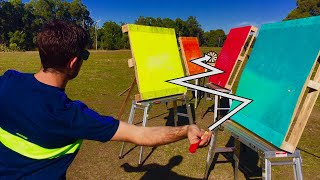Download INCREDIBLE ZIGZAG DARTS BULLSEYE (4 PALLETS)!! Video