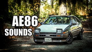 Download Ultimate Toyota Corolla AE86 Sound Compilation #2 Video