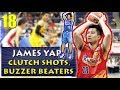 Download James Yap Clutch Shots, Buzzer Beaters, & Game Winners | Career Highlights Video