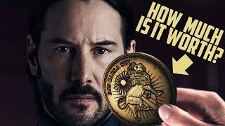Download How Much is One John Wick GOLD COIN Worth? Video