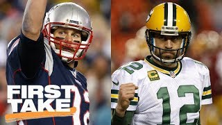 Download Tom Brady vs. Aaron Rodgers: First Take debates | First Take | ESPN Video