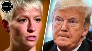 Download Trump FEUDS With Megan Rapinoe And US Women's National Team Video