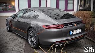 Download Picking Up a New Porsche Panamera 4S Diesel Video