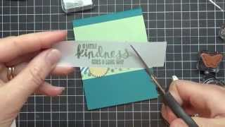 Download Stamping 101: How To Use Vellum Card Stock Video