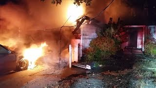 Download Dog rescued from house fire in Concord Video