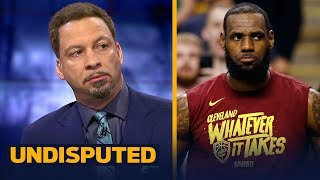 Download Chris Broussard reveals the key to the Celtics taking 2-0 lead over LeBron's Cavs | NBA | UNDISPUTED Video