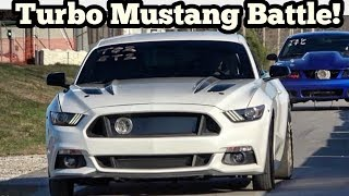 Download Turbo Mustang Battle in the Streets of Wagoner Oklahoma Video