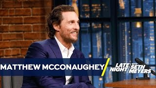 Download Matthew McConaughey Faked an Australian Accent for a Year Video